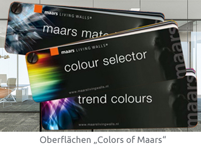 Colors of Maars