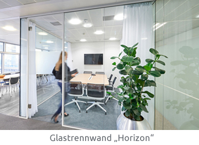 Horizon Glastrennwand