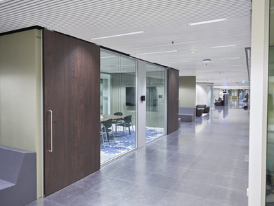 Panorama Glastrennwand Sliding Door